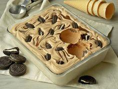 Kakaowe lody kajmakowe z oreo | KuchniaMniam Food Cakes, Aesthetic Food, Healthy Habits, Cake Recipes, Deserts, Food And Drink, Pudding, Ice Cream, Sweets