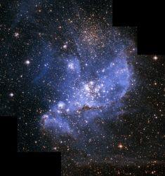 Hubble Telescope's Impressive View of a Stellar Nursery
