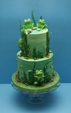 Frog Cake......Lauren make me this PLEASE! !!