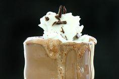 No Sugar, Naturally Sweet Dark Chocolate Coffee Milkshake paleo diet coffee Coffee Milkshake, Chocolate Milkshake, Chocolate Coffee, Chocolate Shake, Paleo Treats, Yummy Treats, Sweet Treats, Yummy Food, Smoothie Drinks