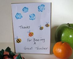 Handmade Thank You Cards The Kids Made These For Their Teachers