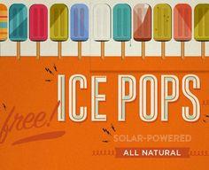 ice pops.