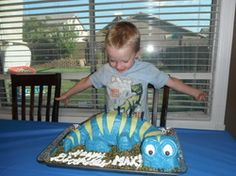 Cute dinosaur birthday party ideas