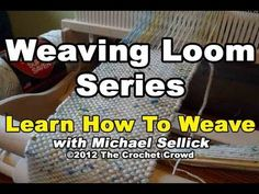How To Weave on a Loom Series by Michael Sellick. Im using a 15 Cricket Loom by Schacht. You can also use this loom for a 10 Version by Schacht as well. Today, I will be showing you some of the basics of what can be done with this loom and see if you are interested in looming. I love the Fiber Arts and you will be amazed with what you can mak...