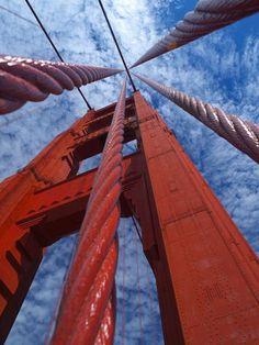 Golden Gate Bridge ~ San Francisco, California, USA