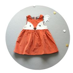 Fox Dress – Over the Moon Children