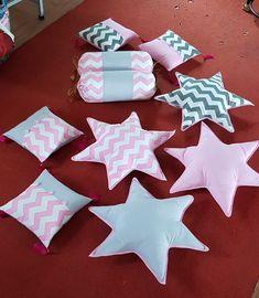 Cute Cushions, Striped Cushions, Cute Pillows, Baby Pillows, Kids Pillows, Play Tents, Kids Tents, Shark Pillow, Unicorn Cushion