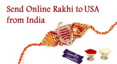Thanks to technology, we can now send Rakhis online to USA from India and surprise our brothers.