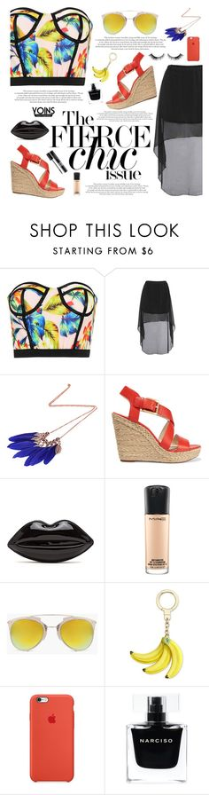 """Yoins #10"" by katarinamm ❤ liked on Polyvore featuring MICHAEL Michael Kors, Christian Dior, MAC Cosmetics, Boohoo, Kate Spade, Narciso Rodriguez, yoins, yoinscollection and loveyoins"