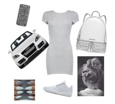 """to DA mall"" by babykayslays ❤ liked on Polyvore featuring Boohoo, Jordan Brand, Tt Collection and MICHAEL Michael Kors"