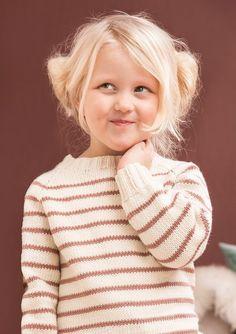 Stripete genser Winter Warmers, Knitting For Kids, Knit Crochet, Winter Hats, Turtle Neck, T Shirts For Women, Children, Sweaters, Pattern