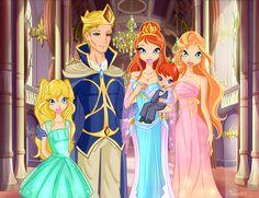 Winx Bloom Family by BerrySplash.deviantart.com on @deviantART