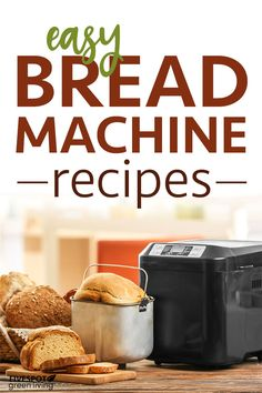 Once you make these easy homemade bread machine recipes, you won't want store-bought anymore! These recipes are healthier and cheaper than what you buy. Breadmaker Bread Recipes, Bread Machine Recipes Healthy, Bread Maker Recipes, Clean Recipes, Dog Food Recipes, Best Homemade Bread Recipe, Homemade Breads, Cinnamon Bread, Challah