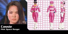 Power Rangers In Space Pink Ranger-Cassie