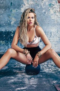"""""""I don't know if I'm ever gonna feel like 'Daaamn, you look good,'"""" said Khloé, """"But I've never felt as comfortable in my own skin than I do now."""" Strong is sexy!"""