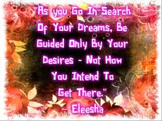 ~ ƸӜƷ•°* In #Search Of Your #Dreams *°•ƸӜƷ ~