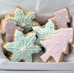 christmas biscuits by Icing Bliss, via Flickr