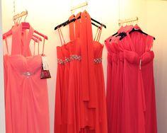 Abiti lunghi in rosa, corallo....o fuxia