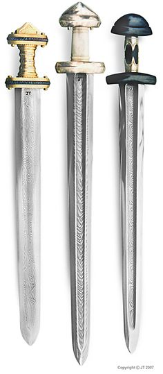 Viking Swords. For more Viking facts please follow and check out www.vikingfacts.com don't forget to support and follow the original Pinner/creator. Thx