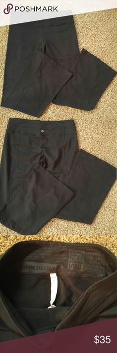 Lululemon size 10 Black lulu pants 10 regular lululemon athletica Pants