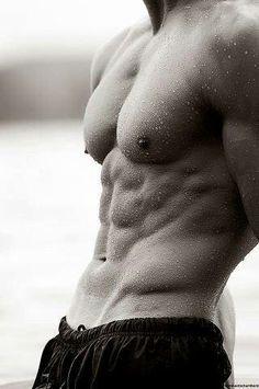 Hot guy #hunk #shirtless #abs