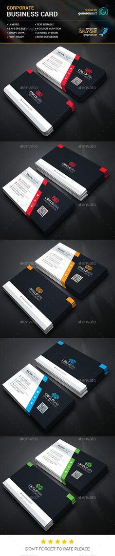 Criclegra Corporate Business Cards Template #design #visitenkarte Download: http://graphicriver.net/item/criclegra-corporate-business-cards_2/12262397?ref=ksioks