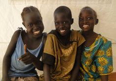 Girls in South Sudan via UNICEF