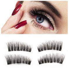 4pcs Magnetic Eyelashes False Eyelash on The Magnet Natural Long Reusable Soft 3D Magnetic EyeLashes False Eyelash Extensions  // Price: $US $4.17 & FREE Shipping //  Buy Now >>>https://www.mrtodaydeal.com/products/4pcs-magnetic-eyelashes-false-eyelash-on-the-magnet-natural-long-reusable-soft-3d-magnetic-eyelashes-false-eyelash-extensions/  #OnlineShopping