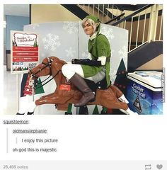 Link...what are you doing?