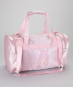 Pink Ballet Shoes Duffel Bag.