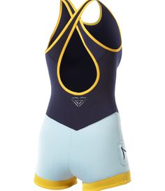 Kassia 2mm Crossback Short John...fancy suits for fancy feet designed by Kassia Meador- I have this :)))