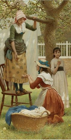 The Daughters of Eve (George Dunlop Leslie - 1883)