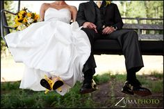 Chairlift Wedding photo