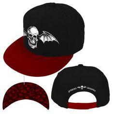 68d61170f79 Avenged sevenfold (death bat) snapback hat
