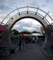 TownSquare, located in Downtown Grand Forks - Home to the Farmers Market during the summer months and a Variety of Community Events.
