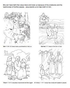 Primary 3 Manual Lesson 9 Priesthood Blessings and