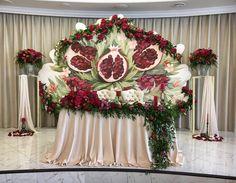 Свадьба Левона и Ануш сейчас. #olivkadecor #столмолодых #президиум #декор #свадебныйдекор #гранатоваясвадьба