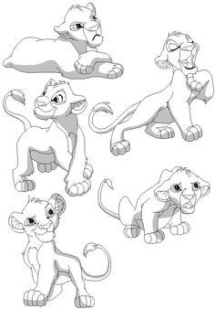 Simba+Group+Base+1+by+QuinnBases.deviantart.com+on+@deviantART