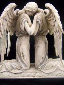 I would love this on Dan and My Grave...after we both die... I believe this will be us in heaven keeping watch over Jennifer and our families...Mourning Archangels.  This is Beautiful!