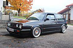 Volkswagen Golf G60 MK2 BBS RM