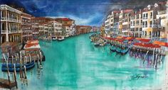 Venezia Canale by ROBSON SPINELLI