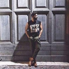 ❤️ ITALIAN GYPSY ❤️ GALARRETA BOY @hyperdecadence in our GYPSY TEE ❤️ so much love #rubengalarreta #galarretaboy #men #male #man #menstyle #menswear #mensfashion #fashion #fashionlove #sporty #thegypsyarmy #gypsyarmy #style #stylish #stylist #beauty #guy #boy #cool #dope #hot #look #like #love #dream ❤️