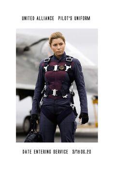 UA FIghter Pilot's Uniform by *whitedragon on deviantART