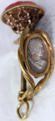 Rare Antique c1800's~~French Pin Cushion Clamp~~ Porcelain Curio Plaque; WOW