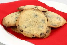 Chocolate-chip cookies en opskrift fra Alletider kogebog