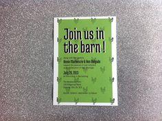 I love chickens #wedding #invitation #farm Printables by Kait Bos