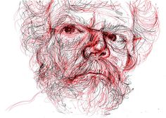 Norman - NCMallory by Sean-Cronin - busy, via Flickr  A wonderful drawing of and by a wonderful artist.