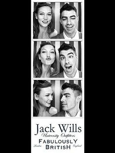 Joe Jonas Karlie Kloss www.mushj.blogspot.it