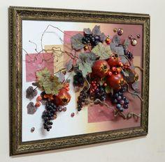 Настенная фруктовая композиция 60*80 см от компании