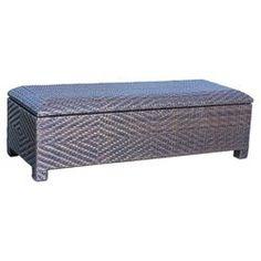 EnviroWood Cushion Storage Box in Brown